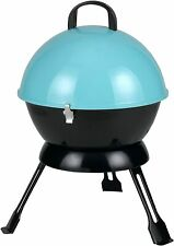 Tepro Salida Mini Kettle Charcoal BBQ Turquoise for Camping, Caravanning