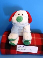 Ty Pluffies Frost the White, Red, and Green Dog 2007(310-2578)