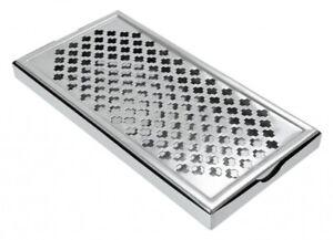 "Stainless Steel Rectangular Drip Tray Bar Pub Mat Drink 12""x 6"""