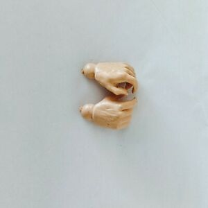 """Marx reissue replacement set of Hands for 12"""" figures (Knights, Vikings) new"""