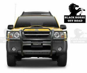 Black Horse Grille Guard Fits 00-04 Nissan Xterra Frontier Push Bar