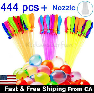 444 pcs Water Balloons Bunch O Instant balloons Already Tied Self-Sealing,US
