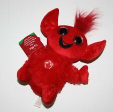 Red Dan Dee Christmas Collector's Choice Talk Plush SOFT TROLL Red NWT 10""