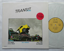 Jean GEERAERTS - TRANSIT ZONE - FRENCH jazz LP PRIVATE R.P.M. Prod (1986) MINT