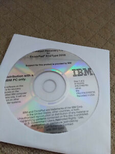 IBM ThinkPad R32 MT 2658 recovery CDs Windows XP Home