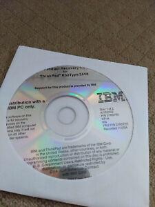 IBM ThinkPad R32 MT 2658 recovery CDs Windows XP Home