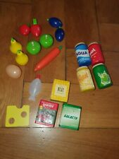 *~* Kaufladen Zubehör Spielküche Haba u.a. teilweise neu Holz *~*