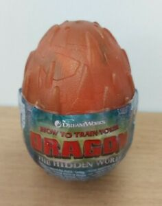 How to Train Your Dragon Hidden World Egg Hookfang Soft Plush Toy - NEW