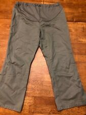 OLD NAVY MATERNITY ~ Cropped Pants ~ Size M Medium ~ Pregnancy ~ Green Khaki