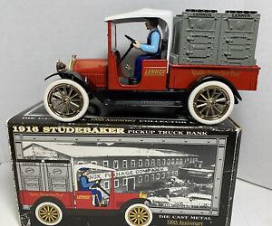 Liberty Classics Diecast Bank 1916 Studebaker Pickup Truck Lennox Advertising
