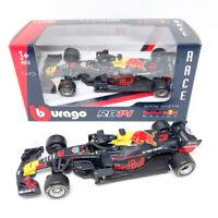 Burago 1/43 2018 Red Bull RB14 No.3 Daniel Ricciardo F1 Diecast Car Model Purple