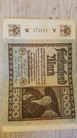 1922 5000 MARK GERMANY REICHSBANKNOTE CURRENCY NOTE GERMAN BANKNOTE BILL MONEY