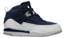 Jordan Spizike Little Kids 317700-406 Midnight Navy Silver Shoes Youth Size 13.5