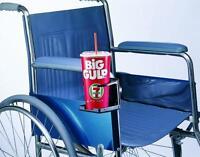 AdirMed Adjustable Cup Holder for Walker, Wheelchair, Rollator, Bicylce