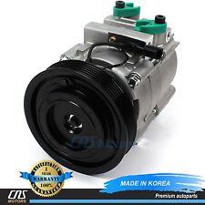 NEW A/C AC Compressor w/ Clutch 58198 HS18 Fits 03-06 Hyundai Santa Fe 3.5L