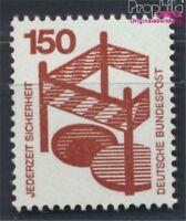 BRD 703A Rd mit blauer Zählnummer postfrisch 1971 Unfallverhütung (8910170
