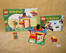 Conjuntos de LEGO: creador conjunto básico: 4172-1 la Casa de Tina (2001) 4 Juniors con instrucciones