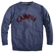 Replika Jeans Campus Sweat Shirt/Blue - 7X WAS £49.99, NOW £35.00