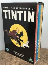 The Adventures Of Tintin (DVD, 2011, 5-Disc Set)  21 Complete Adventures