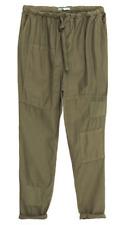 Zara mid-rise peg leg pants-light khaki-sz 10/30-NWT