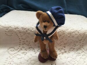 "Springford Miniature jointed bear  4"" sailor boy"