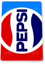 Tin Sign Pepsi Cola Retro 80's Soda Store Sign A139