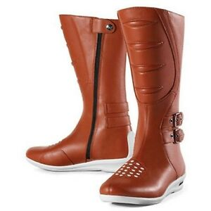 NOS ICON 3403-0244 SACRED TALL BOOTS BROWN SIZE WOMENS 5