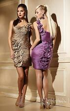 Terani 35053 Gold Size 12 Special Occasion-Prom-Homecoming