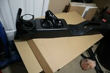 92-95 OEM Honda Civic Black Center Shifter Console Cupholder and ebrake console