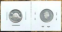 Canada 2000 Silver Proof Gem UNC Five Cent Piece!!