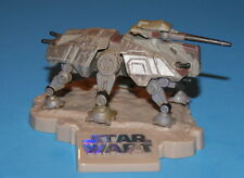 STAR WARS AT-TE BATTLE DAMAGE TITANIUM SERIES DIE-CAST LOOSE