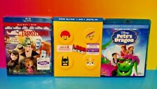 Disney Pete's Dragon 35th, Lego Movie Special, Hotel Transylvania Movie Blue Ray