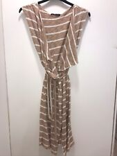 Herwow Ladies Wrap Dress Beach Cover-Up Robe - size M/L - Vintage Style