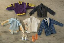 Ken Barbie Doll Clothes Lot Shirts Jackets Shoes Tops