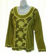 Camicia manica lunga _ Camica Shirt _ Cotton _ Goa Hippie, Naturale Moda, Psy, Fair Trade