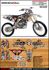 2006-2009 YAMAHA YZF 250 450 Rockwell Motocross Graphic Dirt Bike Graphics Decal
