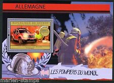 GUINEA 2012 GERMAN FIRE ENGINES OF THE WORLD  SOUVENIR  SHEET  MINT NH