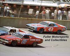 RICHARD PETTY BOBBY ALLISON BUDDY ARRINGTON 1977 8X10 PHOTO NASCAR WINSTON CUP
