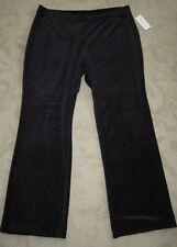 Black Velour pants size 2X  (NWT's).