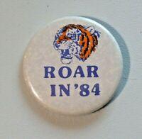 Vintage Roar in '84 Detroit Tigers World Series Champions Pinback Button