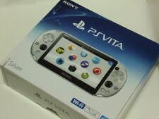 SALE PlayStation Vita Wi-Fi Console System PCH-2000 SILVER PS Vita