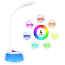 VICTSING Lámpara USB Recargable Flexo Escritorio Control Táctil 3 Niveles Brillo