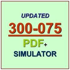 Cisco CCNP Collaboration IP Telephony & Video 2 CIPTV2 Test 300-075 Exam QA+SIM