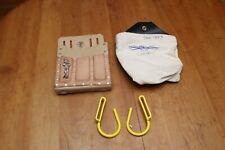 Klein Tools 5127 Leather Pouch Estex Mfg 1106 Canvas Pouch Handline Hooks