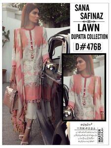 Stitched Embroidered Designer Lawn Suit Like Sana Safinaz