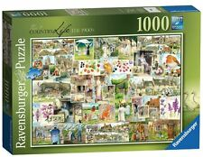 RAVENSBURGER PUZZLE*1000 TEILE*COUNTRY LIFE No.1 - THE 1900 s*RARITÄT*OVP