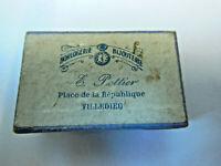 Ecrin Boite en carton Horlogerie Bijouterie Villedieu  Epoque 1880-00