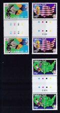 Echte Briefmarken aus der Philatelie aus den USA