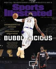 Lebron James LA Lakers 2020 Champs Sports Illustrated cover photo - select size