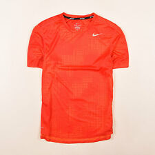 Nike Herren T-Shirt Shirt Classic Gr.M Running Dri-Fit Sport Training Rot 84288